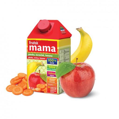 Frutek Mama-jabuka/banana