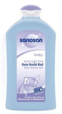 SANOSAN baby Gute Nacht Bad