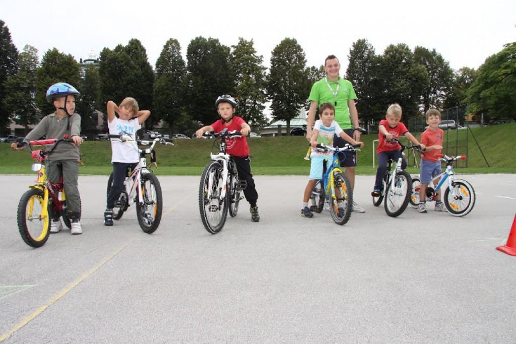 Bikeri sa Šalate