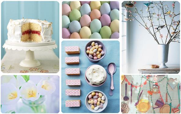 Велигденски декорации во пастелни бои