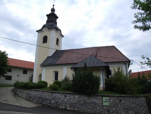 Cerkev sv.Miklavža v Podgori