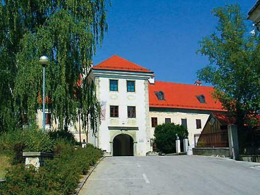 Vhod v grajsko stavbo
