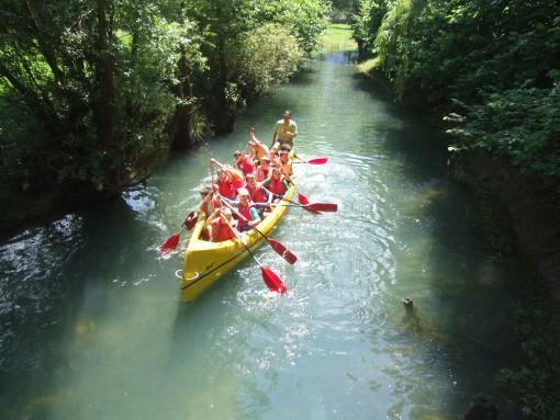 Vožnja po reki Krki
