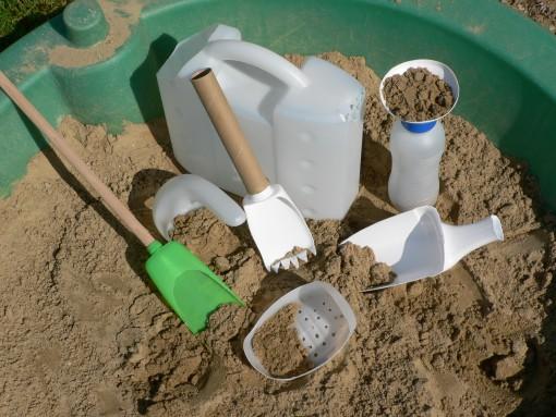 Eko igrače za v pesek