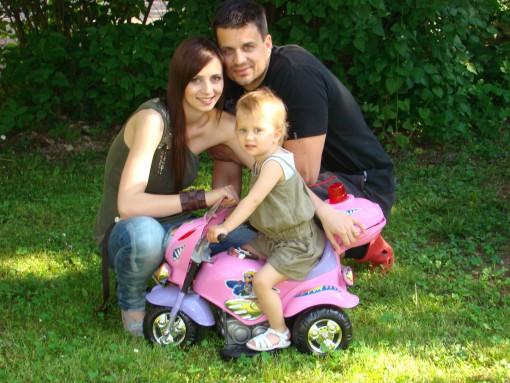 Žana z družino