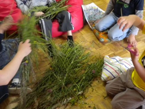 Trava v učilnici je drugačna, kot na travniku