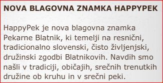 Sponzor Pekarna Blatnik
