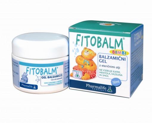 Pomirjujoči Fitobalm gel iz naravnih izvlečkov