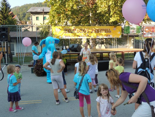 Veseli balon v Ljubljani