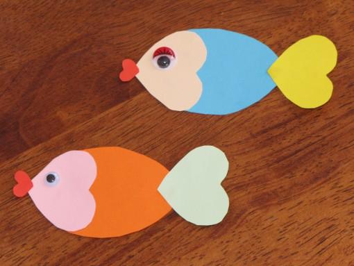 SLIKA 4: Ribice iz srčkov (F: B. Špacapan)