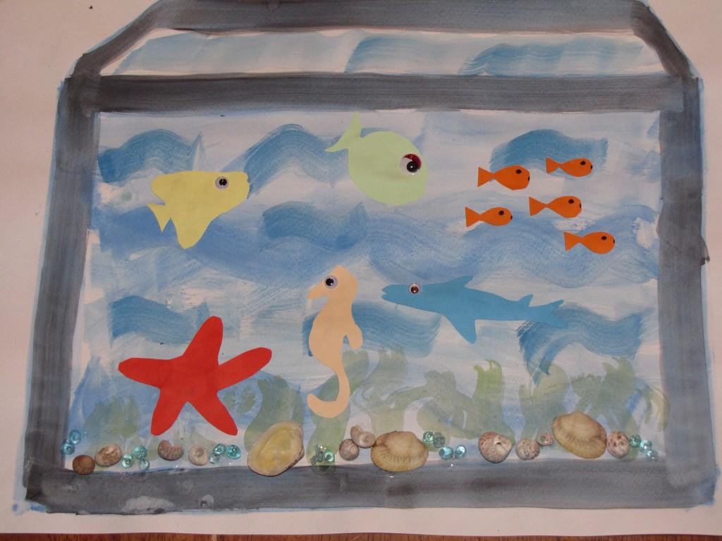 Slika 2: Akvarij - spomin na morske dni
