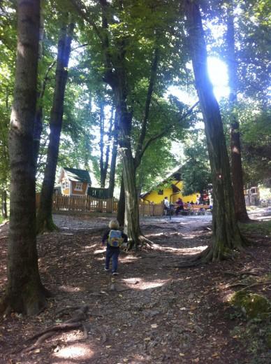 Koča na gozdnem hribčku nad Mengšem