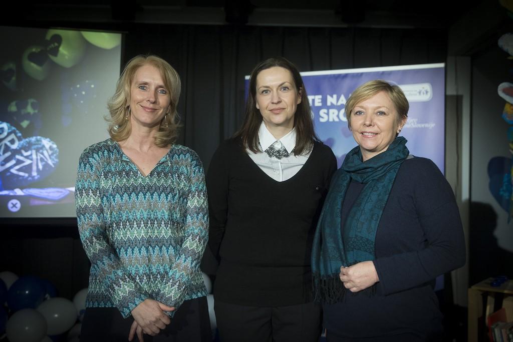 Katja Pavli, Nela Zadro, Darja Groznik