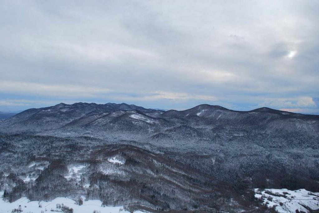 Pozimi je pokrajina pokrita s snežno odejo. (F: vnaravi.si)
