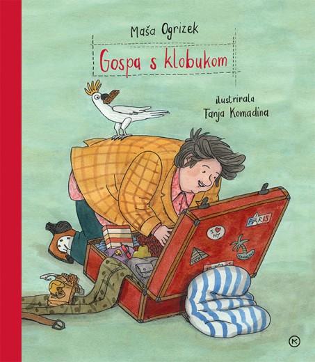 Naslovnica otroške knjige Gospa s klobukom