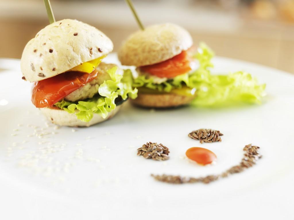 Kot se za družinski hotel spodobi, je poudarek na zdravi hrani.