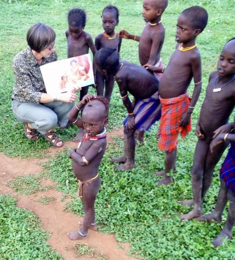 Mnogi otroci po svetu še nikoli niso videli slikanice.