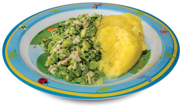 brokoli polenta