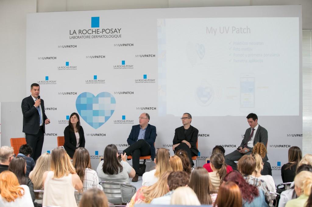 Predstavljanje La Roche-Posay tehnološke inovacije_My UV Patch