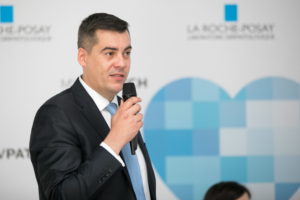 Marko Stamenović, La Roche-Posay medical area manager