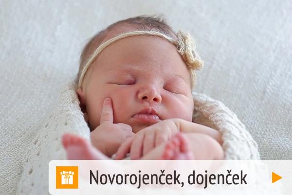 Darilni paketi - Prijava Novorojenček, dojenček