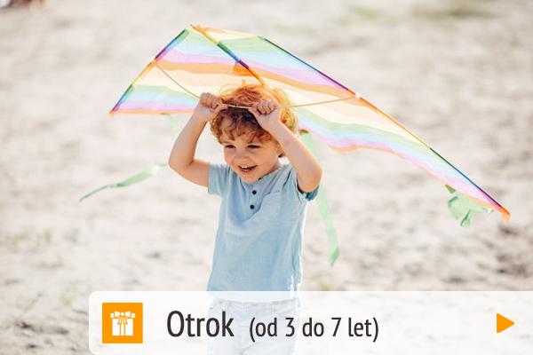 Darilni paketi - Otrok (od 3 do 7 let)