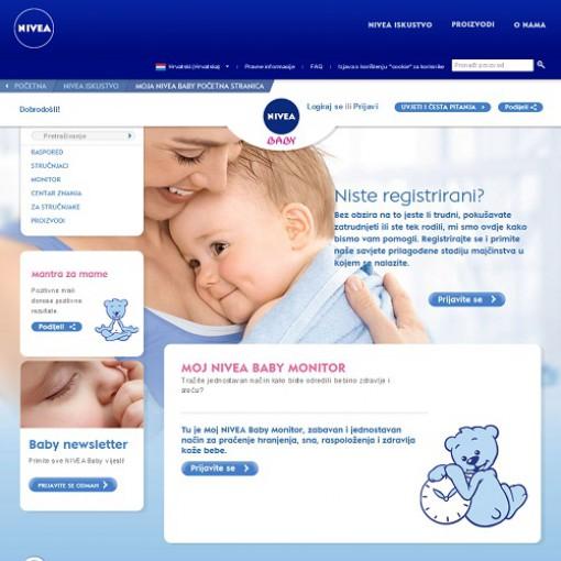 Nivea Baby monitor