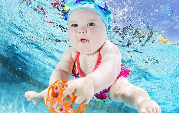Bebè nuotatori