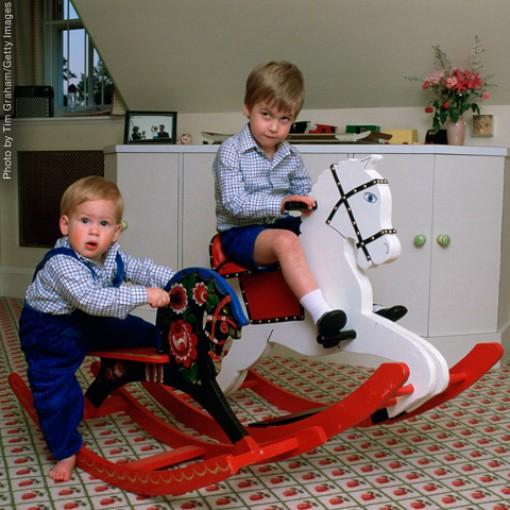 Вилијам и Хари – Октомври 1985 година