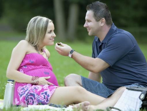 Мажите се здебелуваат кога партнерката е бремена