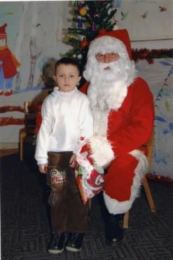 Јован со Дедо Мраз