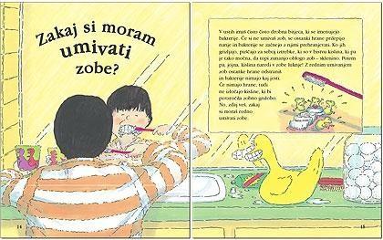 Zakaj si moramo umivati zobe :)