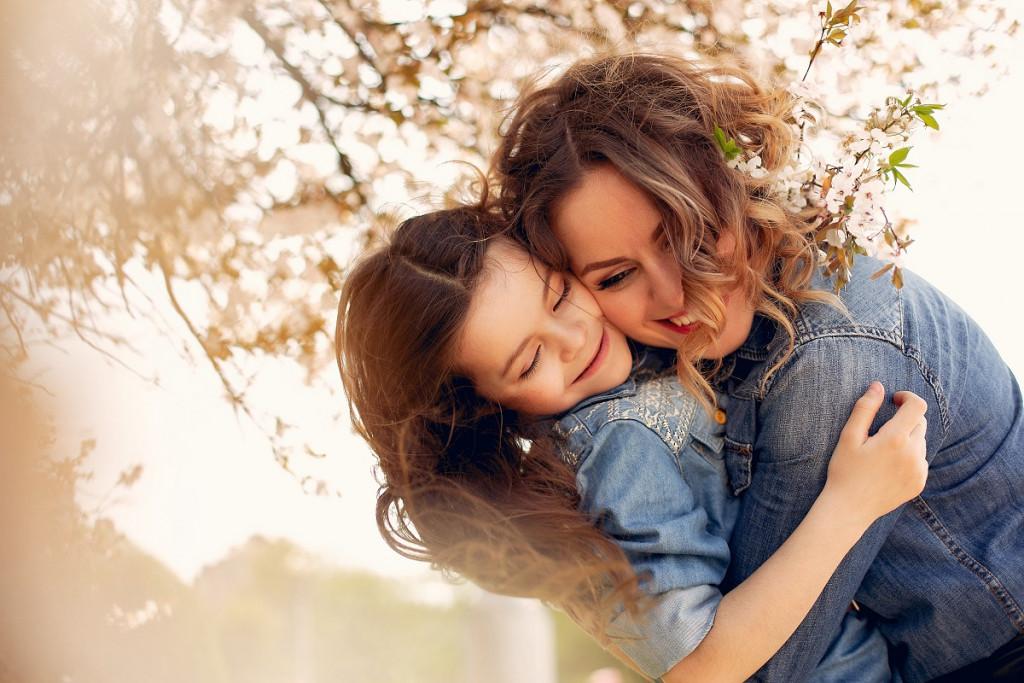 Tudi jaz te imam neskončno rada, mami moja.