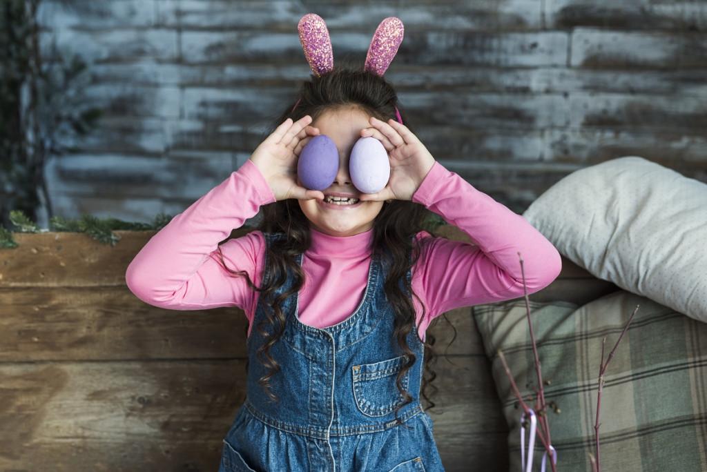 Le kam je velikončni zajček skril čokoladni jajček zame?