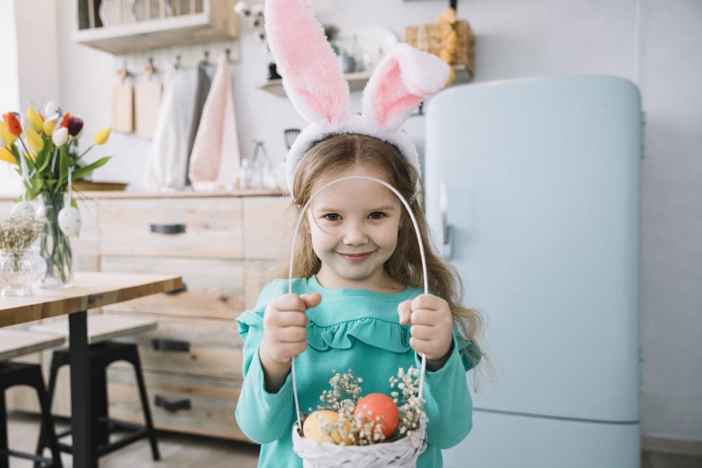 Najbolj srčkana velikonočna zajčica na svetu