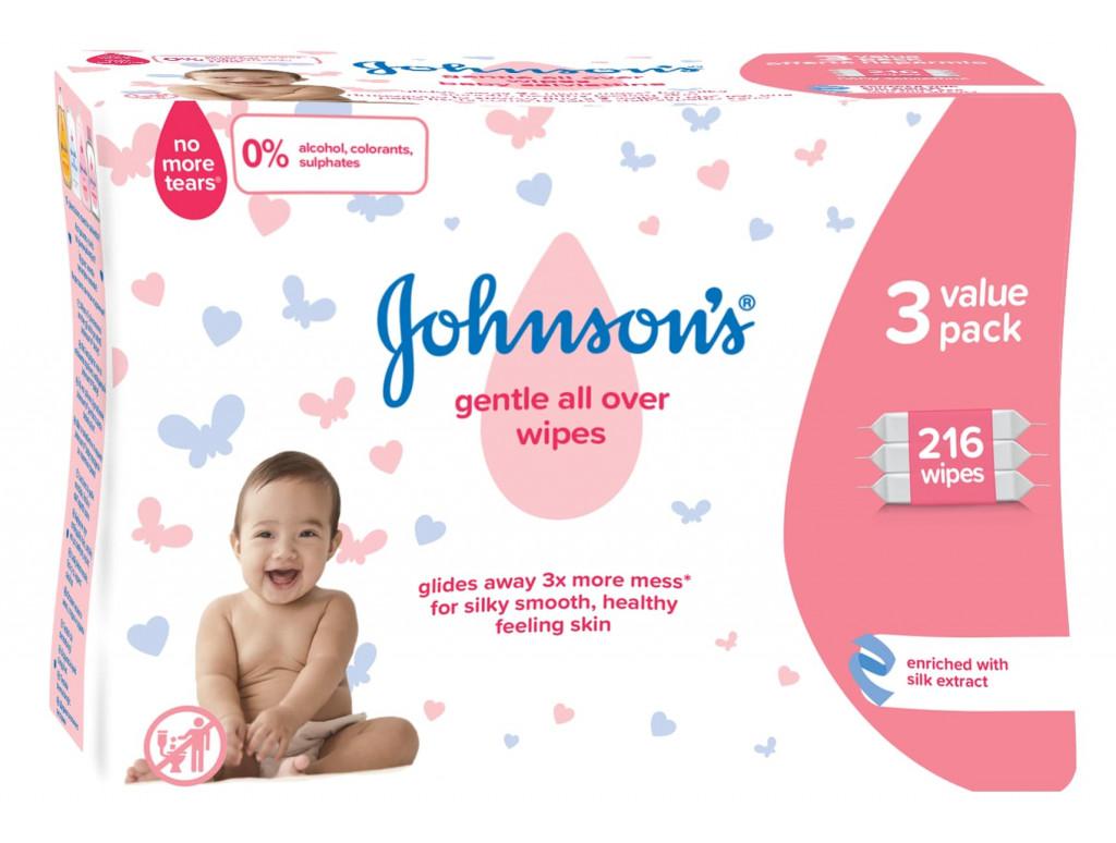 Paket izdelkov Johnson`s