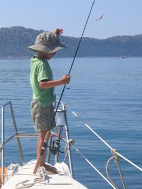 Priprava na lovljenje rib