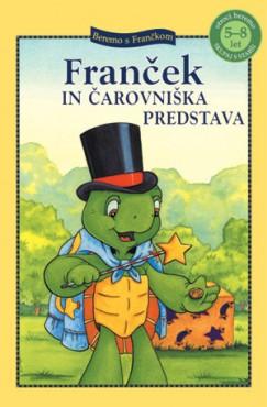 Knjiga Franček in čarovniška predstava.