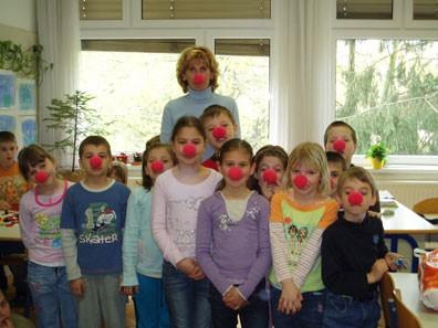V prvem razredu so zbrali 23 € in dobili 23 noskov