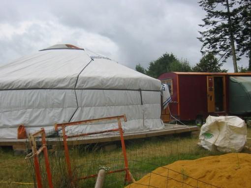 Mongolski šotor