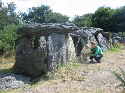 Starodavna kamnita grobnica