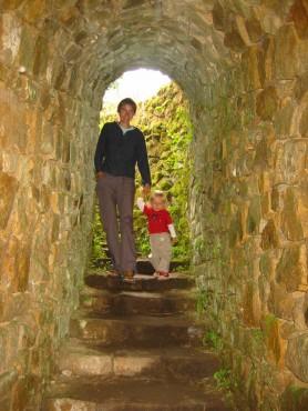 Vstop v kamnito jamo