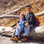 Z vnukom v hrib