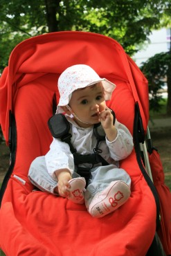 Sofia v parku