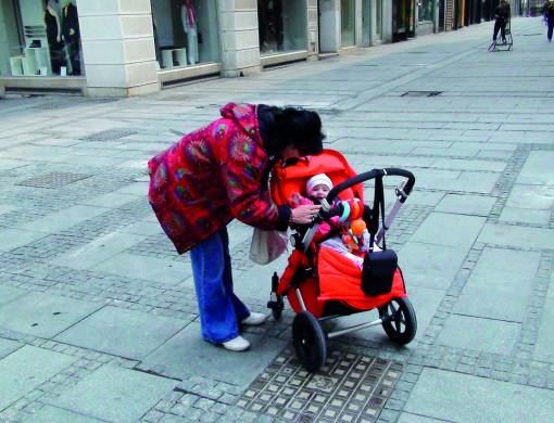 Sofia z babico