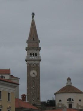 Zvonik cerkve Sv. Jurija
