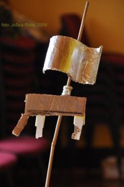 ...in izdelali vetrne skulpture...