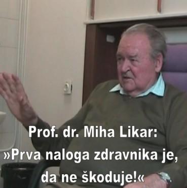 prof. dr. Miha Likar