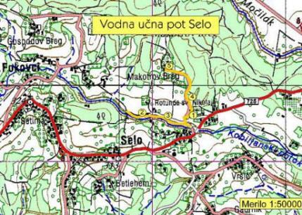Vodna učna pot Selo