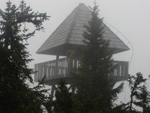 Razgledni stolp na Lovrenških jezerih